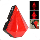2 Red Laser Beam 8 LEDs Bulbs Bicycle Bike Cycling Laser Tail Lights Taillight