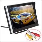 5 Inch TFT LCD Digital Car Rear View Monitor LCD Display for VCD / DVD / GPS / Camera with Front Diaphragm