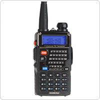BaoFeng UV5RE Plus Dual Band 136-174 / 400-480MHZ Radio + Earpiece / 1800mAh Battery
