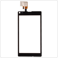 Black Cell Phone Touch Screen Digitizer Replacement for SONY S36H