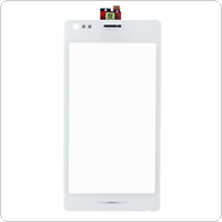 White Cell Phone Touch Screen Replacement with Digitizer for SONY C1905