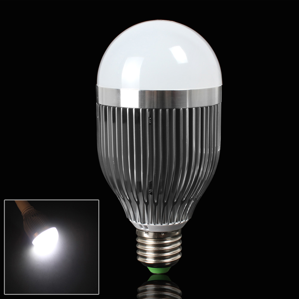 Wholesale E27 9w Pure White Led Ball Light With Low Energy