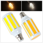 B22 15W Cob LED Bulb White / Warm White Light LED Corn Light for Home / Office