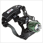 500 Lumens LB-XL T6 LED Waterproof Zoomable Rotating Headlamp + Charger