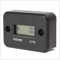 Completely Waterproof LCD Screen Display Induction Type Engine Hour Meter for All Gasoline Engine