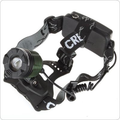 LB-XL T6 500Lm Rechargeable Waterproof Zoomable Headlamp & Charger