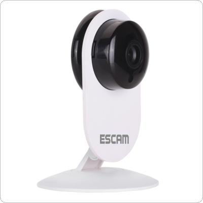 ESCAM Ant QF605 3.6mm Lens Rotatable Mini Wireless IP Camera WIFI / ONVIF2.0 Two Way Audio Camera Support E-mail Alarm & Motion Detection