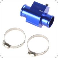 Water Temperature Temp Sensor Guage Adapter 28mm Aluminium with Clamps