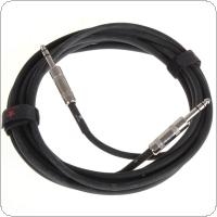 JOYO 15 Feet 6.3mm to 6.3mm Male Plug Shielded Stereo Instrument Guitar / Bass Cable