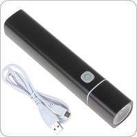 Intelligently Multifunctional Cigar Torch with 1 W Lumens LED Glare Light & Replaceable Power Bank