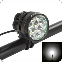 7 x XM-L T6 LED Super Bright 4200Lm Bicycle Flashlight with 3 Modes