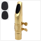 Professional Gold Plated Metal Tenor Saxophone Mouthpiece 7 for Jazz Music
