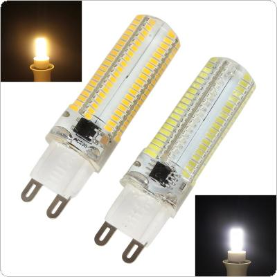 Dimmable G9 White / Warm White 152 LEDs 3014 SMD 10W Corn Bulb Silicone Lamp