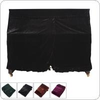 158 x 112 x 50cm Pleuche Musical Piano Dust-proof Cover Dust Guard Tool for Upright Piano