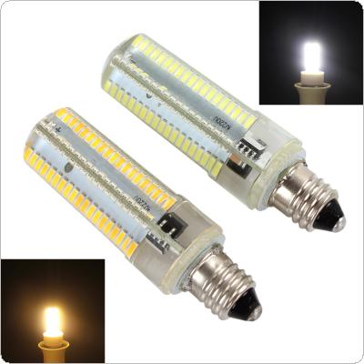 Dimmable E11 White / Warm White 152 LEDs 3014 SMD 10W Corn Bulb Silicone Lamp