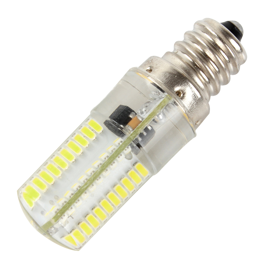Wholesale Dimmable E12 White Warm White 80 Led 3014 Smd Light Silicone Crystal Bulb Lamp 110v 220v
