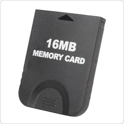 16MB Black Memory Card (251 Blocks) Designed for Nintendo Gamecube and for Wii Console System Storage GC