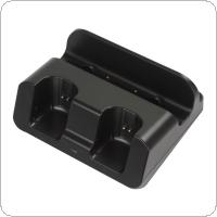 3 in 1 Charger Dock Station & Battery Case Fit for Nintendo / Wii U Gamepad Controller