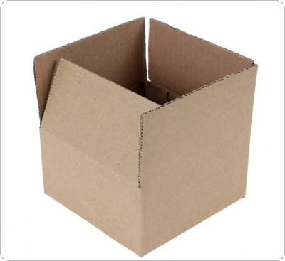 Gray Package Box 500 x 400 x 350mm