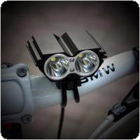 SolarStorm 5000LM X2 XM-L T6 Waterproof Bicycle LED Headlight with Rechargeable Battery + Charger