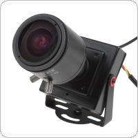 2.8-12mm Manual Lens Mini HD 700TVL 1/3 CMOS Security Audio Video Color CCTV Camera