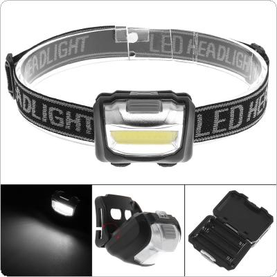 Style COB LED Head Light Mini Flashlight Super Bright Outside Using Light