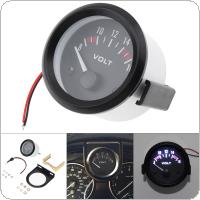 "2"" 52MM 12V 8~16V Universal LED Electrical Car Voltmeter Voltage Gauge Meter"