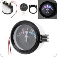 "2"" 52MM 12V 60-0-60 AMP Universal Ammeter Gauge Meter for Car / Boat / Truck / ATV"