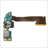 Headphone Audio Jack Charging Micro USB Dock Port Flex Cable Fit for HTC One M8 32GB