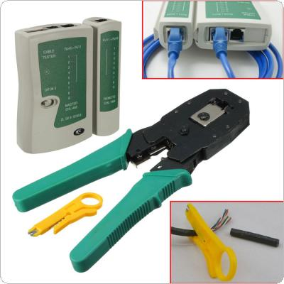 RJ45 RJ11 RJ12 CAT5 LAN Network Tool Kit Cable Tester Crimp Crimper Plier