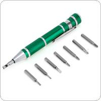 8 In 1 Precision Screwdriver Bit Star Repair Tool Kit