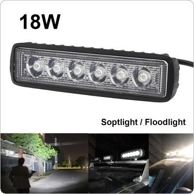 Wholesale 1550lm mini 6 inch 18w 6 x 3w led light bar as worklight 1550lm mini 6 inch 18w 6 x 3w led light bar as worklight flood light aloadofball Choice Image