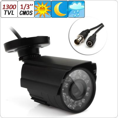 1300TVL Waterproof Outdoor CCTV Security Camera IR Color Night Vision 3.6mm Lens