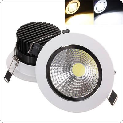 15W COB LED Non-dimmable Recessed Ceiling Light Fixture Down Light Kit
