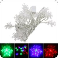 110V-220V 4M Little Snowflake RGB LED String Light For Decoration Festival Holiday Party