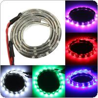 2pcs 12V 30cm 18LED 3528 Flexible Strip Lights Waterproof IP65 with 5 Colors