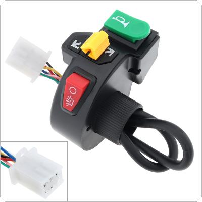 3in1 Motorcycle Pit Bike ATV Horn Turn Signal Light Switch