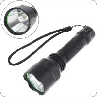 C8 Waterproof LB-XL T6 LED 500 Lumens 5 Modes Flashlight for Outdoor / Camping / Illumination