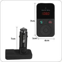 Wireless Bluetooth FM Transmitter Modulator Car Kit MP3 Player LCD Display Support SD USB Remote Control