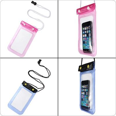 Transparent Waterproof Underwater Pouch Bag Dry Case for Mobile Phone