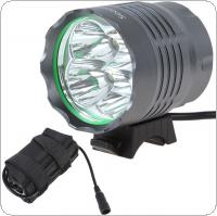 The Lamp Head of the 4800 Lumens 4 x XM-L T6 LED Headlamp + Battery Pack