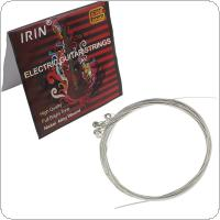 IRIN E100 Music Instrument Steel Strings for Electric Guitar 0.009-0.042 Inch