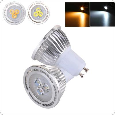 GU10 3W 3x 3030SMD LED Warm White / White LED Light AC 85-265V