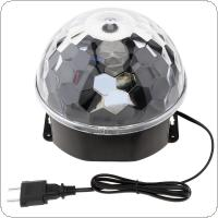 DMX512 Disco DJ Stage Lighting Digital LED RGB Crystal Ball Effect Light