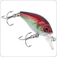 1pcs 4.5cm 4.2g Fishing Lure Deep Swimming Crankbait 0.1-0.5m Depth Tight Wobble Slow Floating Fishing Tackle