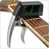 Meideal TCapo20 Guitar Capo Tuner with LED Display + High Sensitivity & Accuracy