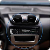 In-Dash 12V Bluetooth Car Stereo  Audio FM MP3 Player  with Microphone Support Aux in SD /TF Card USB Car AUX  + Remote Control