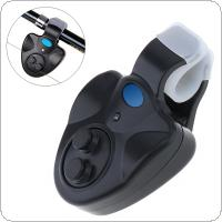Electronic Fishing Rod LED Light Bell Clip Fish Bite Alarm Tool with Sound-light Alarm Device
