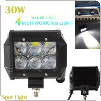 4 Inch Vehicle 30W 2550LM LED Work Spot Light Bar 4WD ATV Off road SUV Driving Lamp