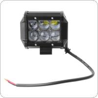 2 x 4 Inch 30W 2550LM Car LED Work 4WD ATV Off-road SUV Driving Spotlight Bar Lamp